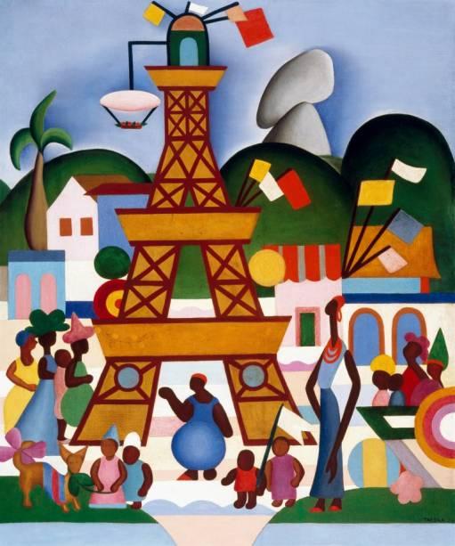 Carnaval em Madureira (1924), de Tarsila do Amaral
