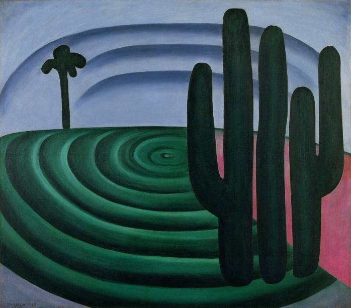 Distância (1928), de Tarsila do Amaral