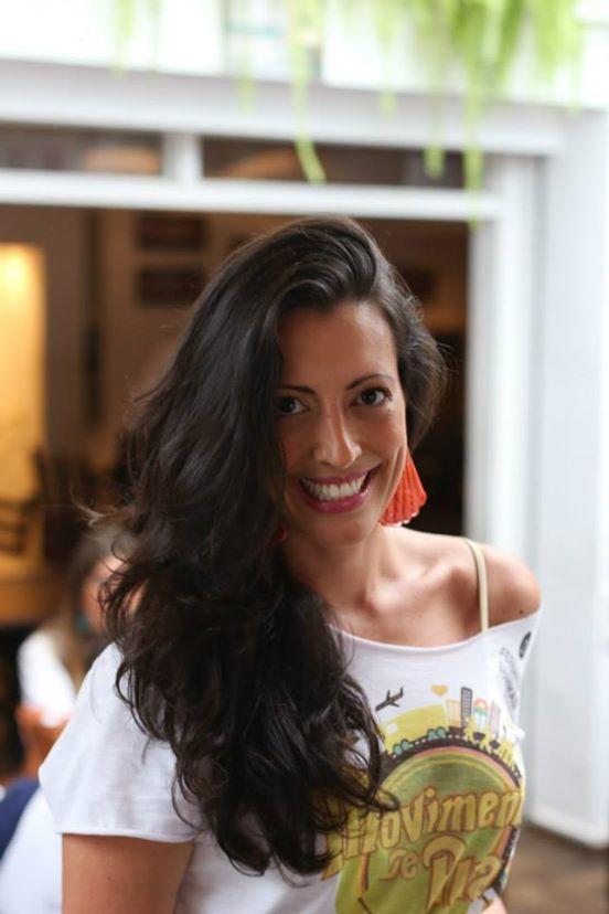 Tatiana Monteiro de Barros, uma das organizadoras do Baile do Movimento: aniversário de dois anos da festa no Clube Pinheiros
