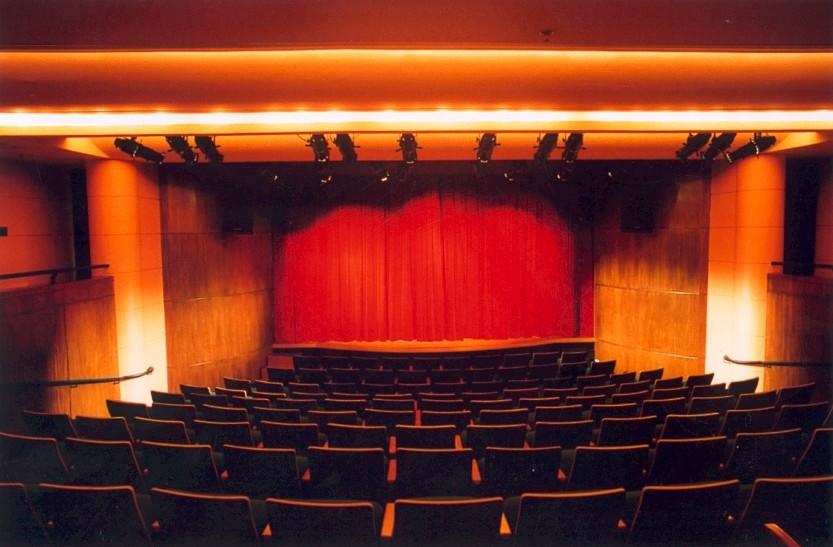 Sala B, do Teatro Alfa