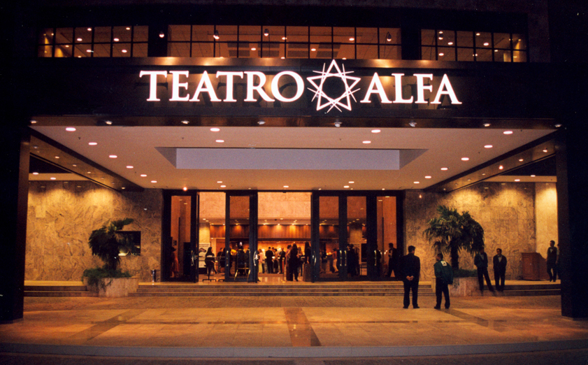Fachada do Teatro Alfa
