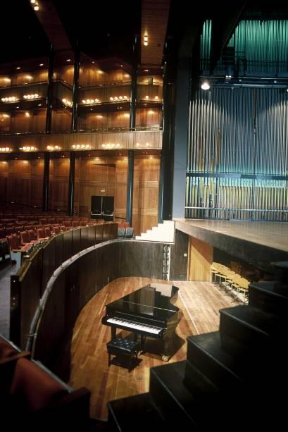 Fosso da orquestra, no Teatro Alfa