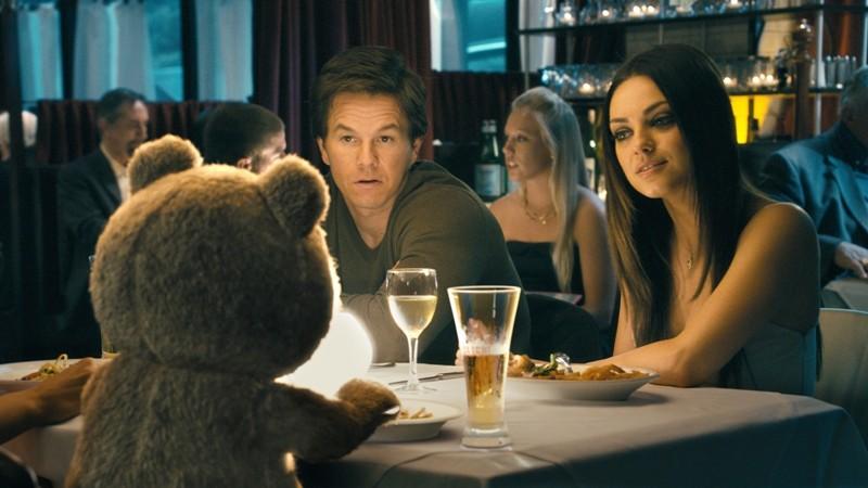 Mark Wahlberg e Mila Kunis em Ted
