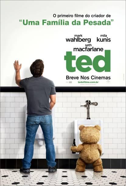 Pôster de Ted: comédia para marmanjos
