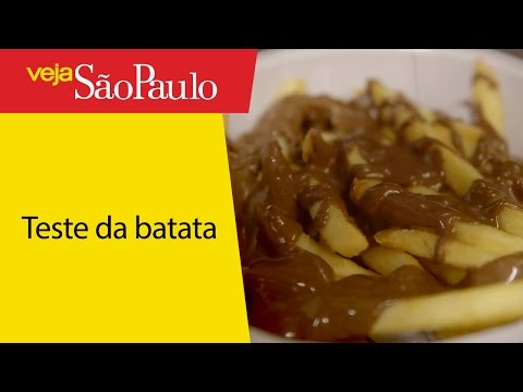 Testamos a batata frita com Ovomaltine do Burger King