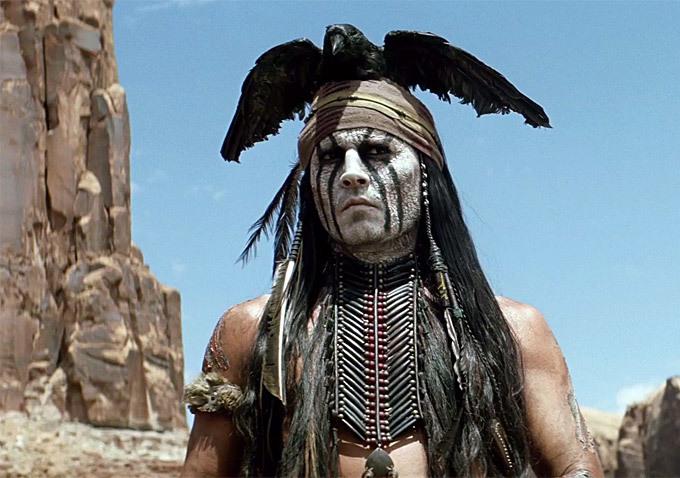 Johnny Depp concorre a pior ator por O Cavaleiro Solitário