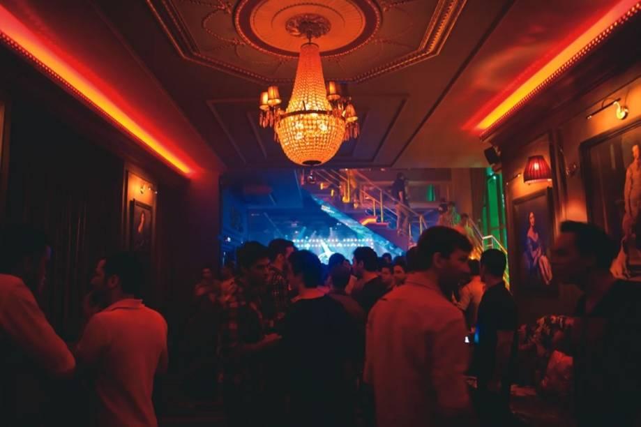 The Society, no Baixo Augusta: espaço refinado voltado ao público gay