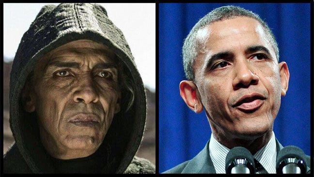 O ator que interpreta Satã e o presidente americano: semelhanças?