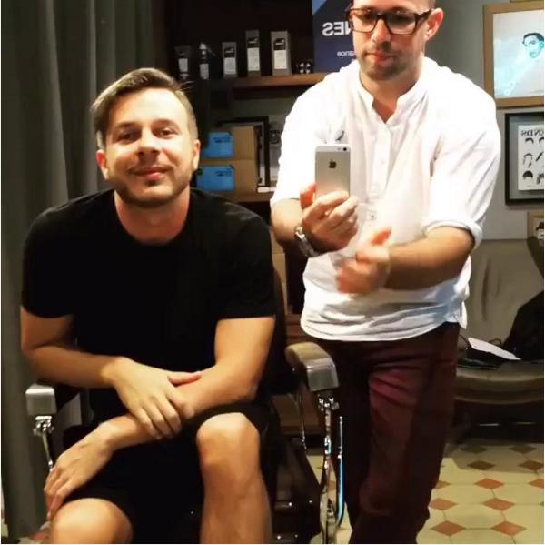Thiago Fortes e Anderson Santos: nova barbearia nos Jardins, em São Paulo