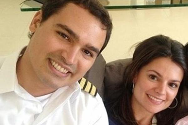 Thomaz e Sophia: acidente aconteceu há um ano (Foto: Reprodução Facebook)