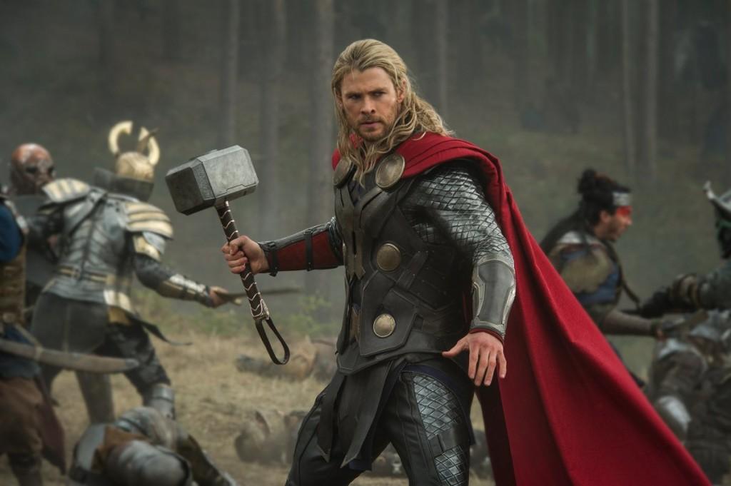O papel que o tornou famoso: ele volta a interpretar Thor em 2015