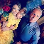 Ticiane, Rafaella e Justus: aniversário de 4 anos da filha do casal