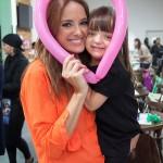 Ticiane com a filha: apresentador global já teria conhecido Rafaella