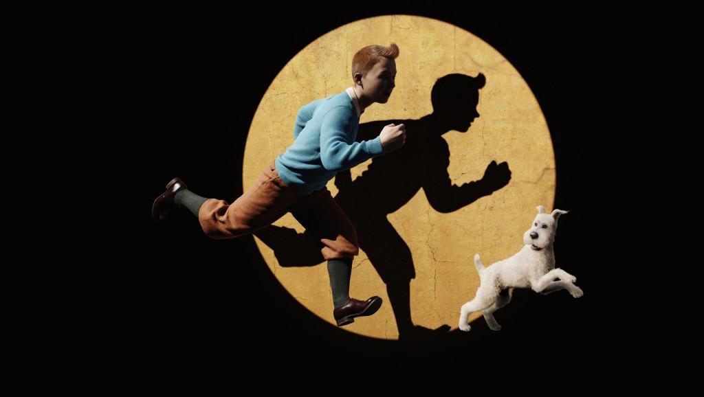 Tintin: cena da animação de 2011