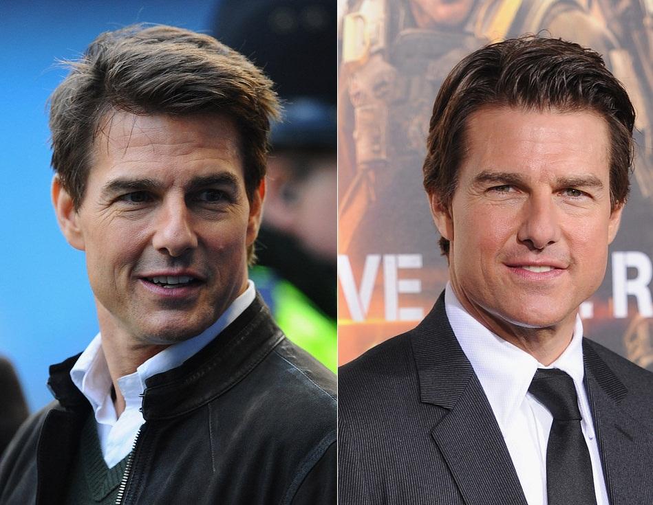 Tom Cruise nem precisa fazer muito sacrifício porque será eternamente jovem. Mas de 2012 para cá, convenhamos, ficou ainda melhor