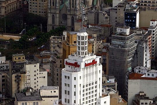 Torre do Banespa: do alto é possível ver quase toda a cidade