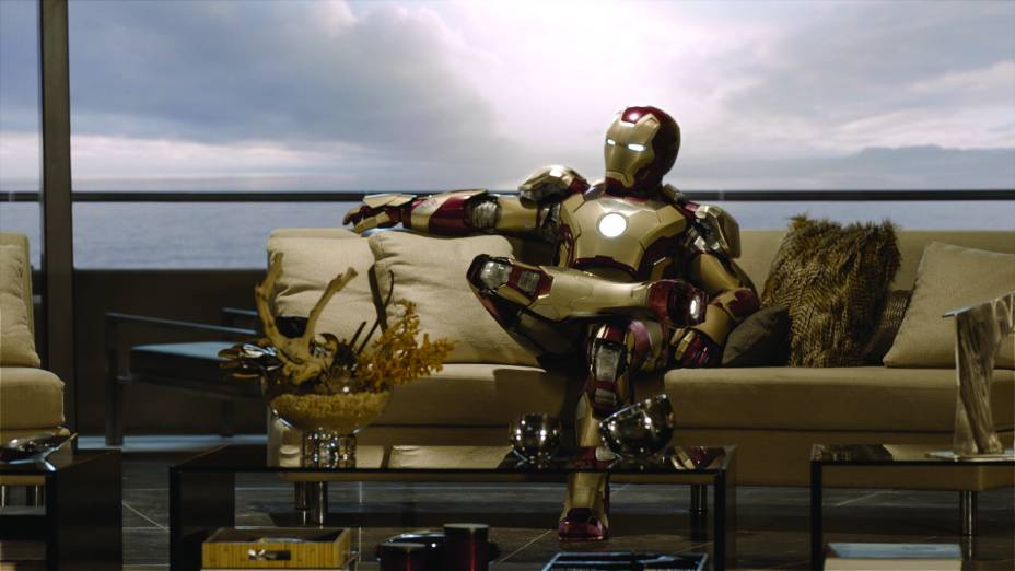 Em Homem de Ferro 3, Robert Downey Jr. volta a interpretar o super-herói