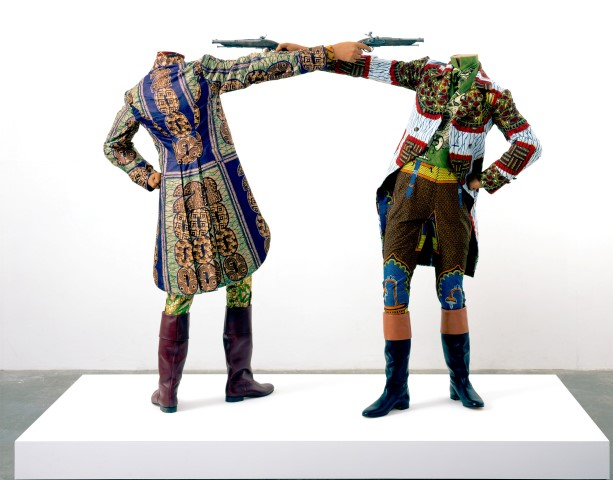 Transit_SP:  How to blow up two heads once, de Yinka Shonibare Mbe