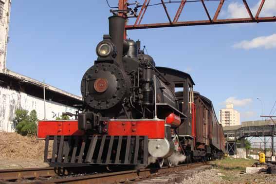Trem Maria-Fumaça Mooca-Brás