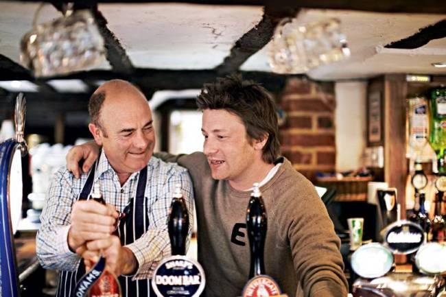 Jamie Oliver e Trevor Oliver