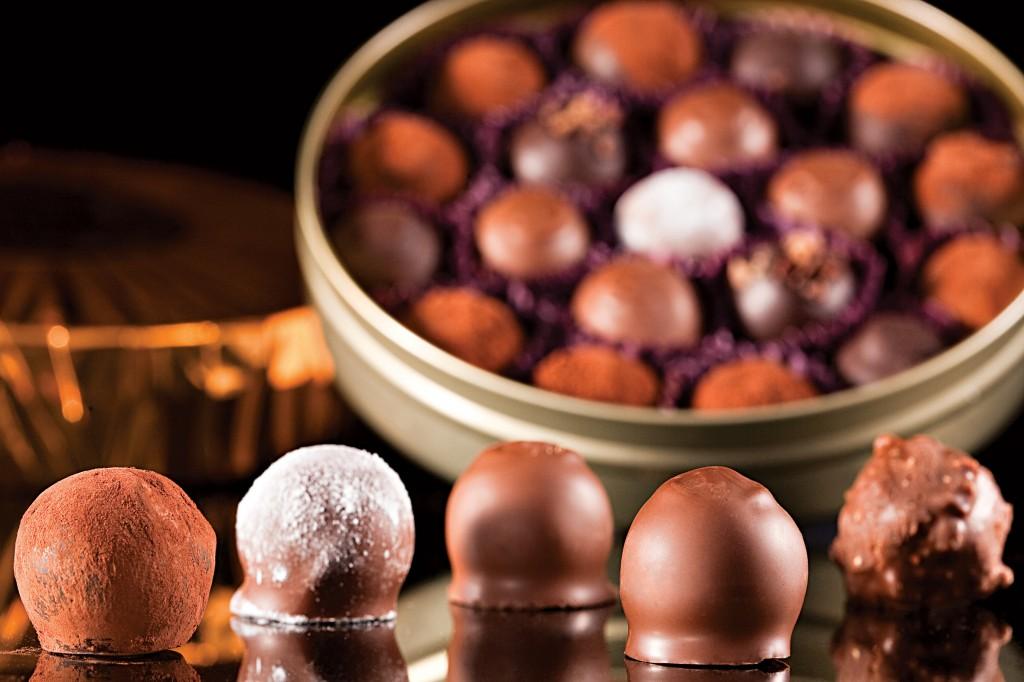 Trufas da Chocolat du Jour: R$ 6,00 a unidade (Foto: Divulgação)
