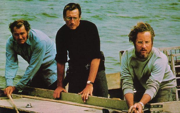 Tubarão, dirigido por Steven Spielberg: dias 24, 25 e 28 de outubro
