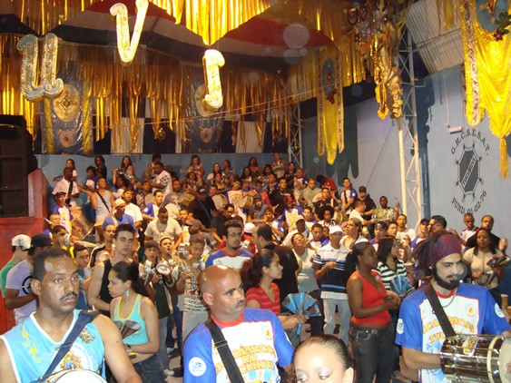 Ensaio da escola de samba Acadêmicos do Tucuruvi