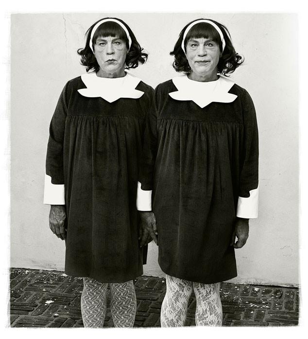 Diane Arbus / Twins Roselle, de 1967