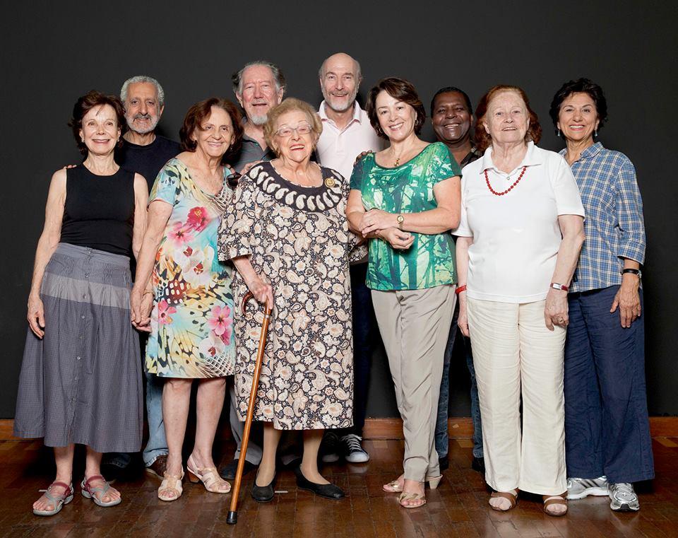 """O elenco da comédia dramática """"A Última Sessão"""" (Foto: Rodrigo Wagner)"""