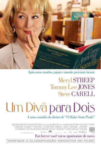 Pôster de Um Divã para Dois: comédia dramática estrelada por Meryl Streep