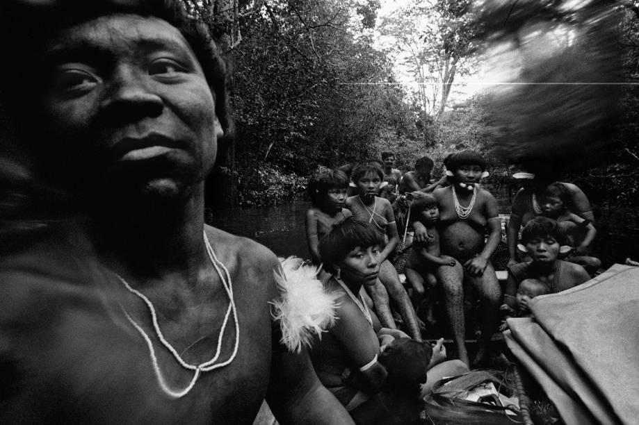 Yanomami Amazonas (1974), fotografia de Claudia Andujar