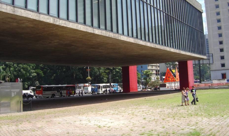 Vão livre do MASP, Museu de Arte de São Paulo