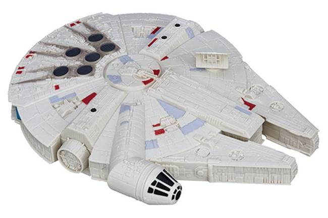 Veículo Millenium Falcon 25 CM - Star Wars - O Despertar da Força - Hasbro - Disney Principal