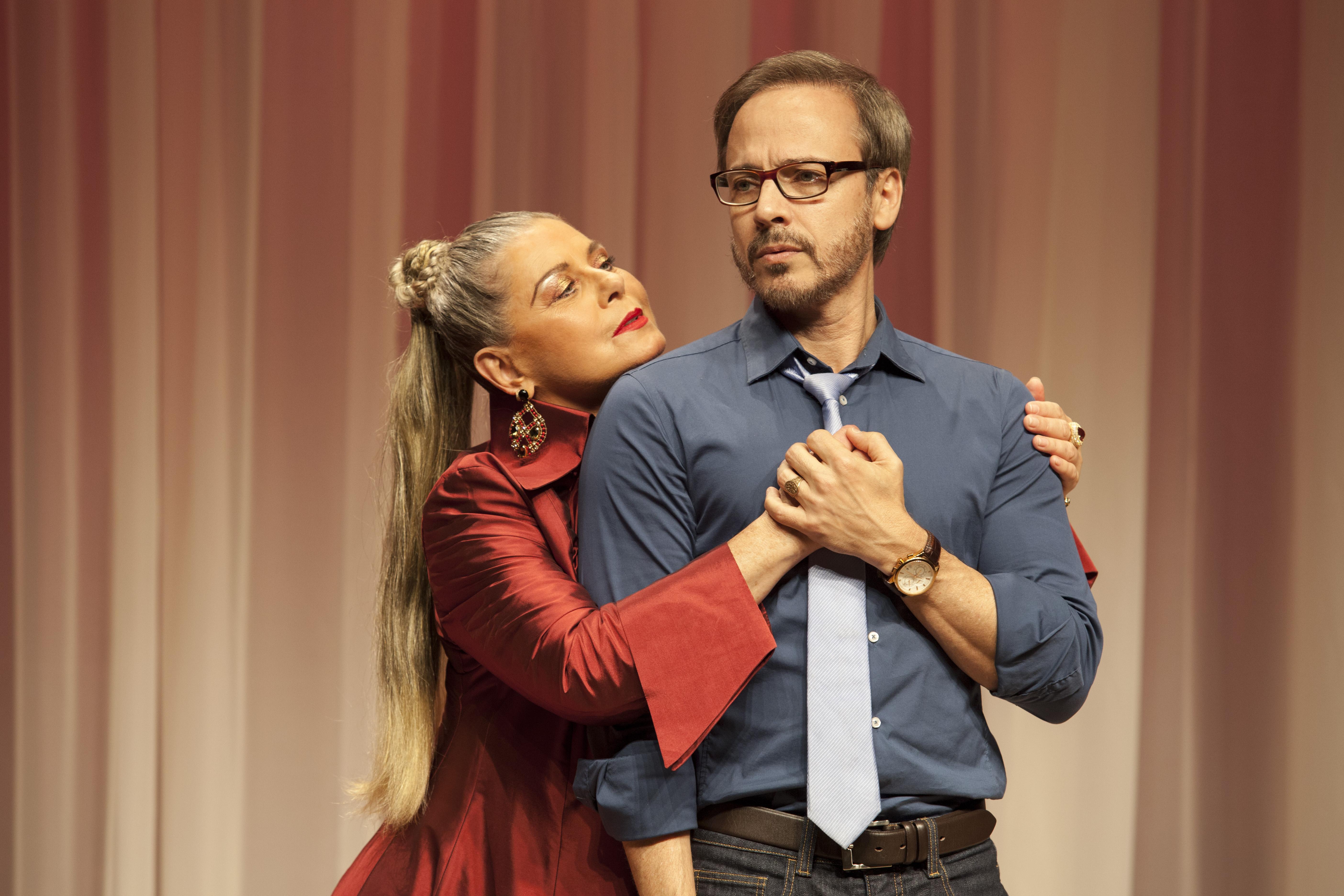"""Vera Fischer e Edson Fieschi: a comédia """"Ela É o Cara"""" abre o ano no Teatro Folha (Foto: Ariel Bernardino)"""