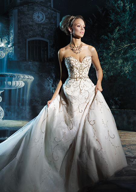 vestido coleção Disney Cinderela