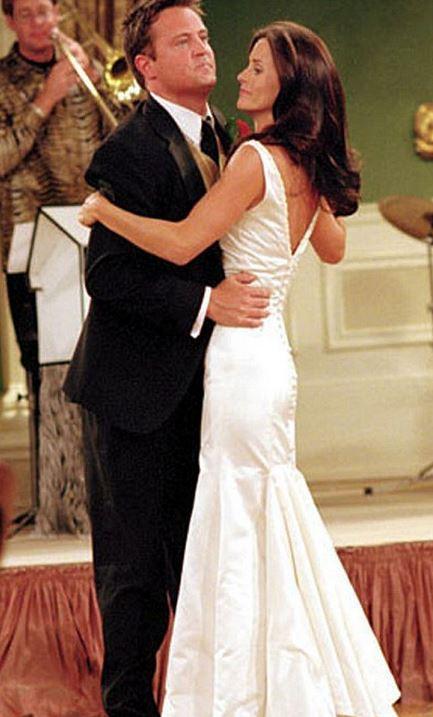 Vestido de noiva que a Monica usou em Friends