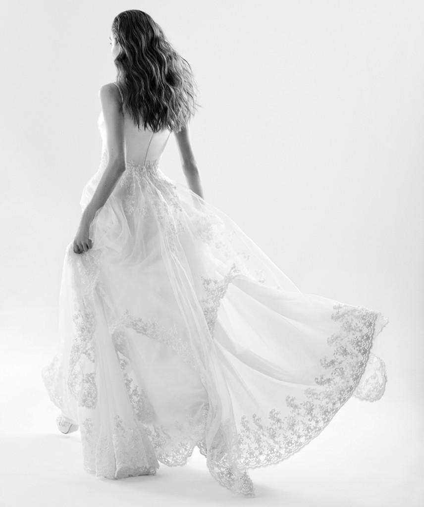 Vestido de noiva assinado pelo estilista Lucas Anderi (Foto: Divulgação)