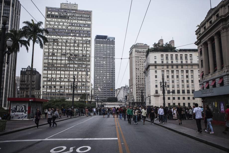 Viaduto do Chá: projetado para ligar o Centro Velho ao Centro Novo, região atual do Teatro Municipal.