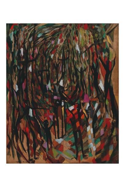 O óleo La Macumba, de Maria Helena: influência na abstração brasileira