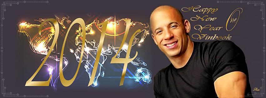 Vin Diesel abriu um sorriso para desejar Feliz Ano Novo num cartão