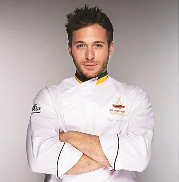 Rangel: apresentador de TV e dublê de cozinheiro