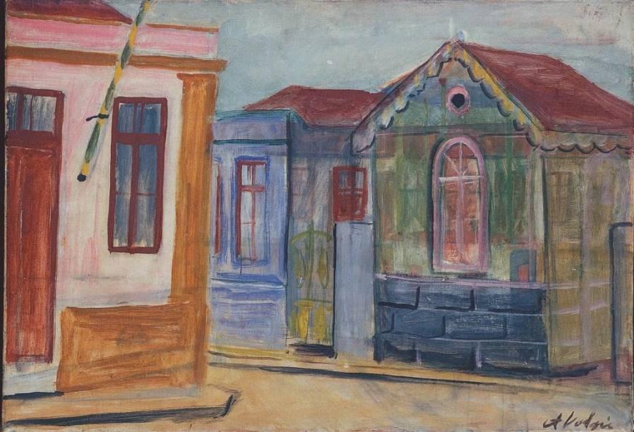 Mogi das Cruzes (1935), de Alfredo Volpi