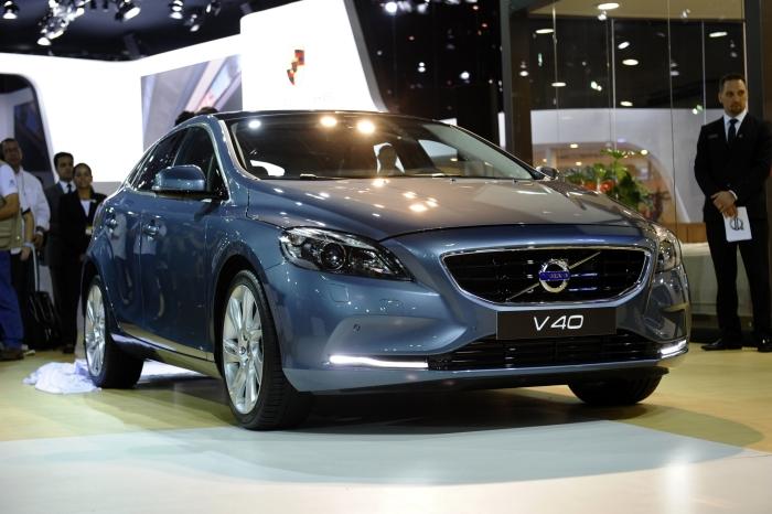 V40: a frente do hatch da Volvo