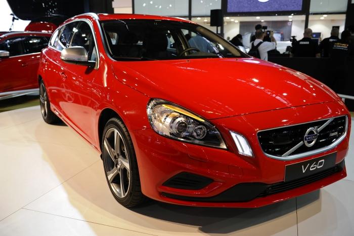 V60: um dos destaques do evento, a versão racing do modelo é uma homenagem ao Volvo 850