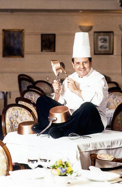 Suaudeau, em 1999, quando foi eleito o chef do ano: sucesso em um flat (Foto: Mario Rodrigues)