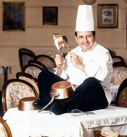 Laurent Suaudeau, chef e dono do restaurante Laurent. 1999.