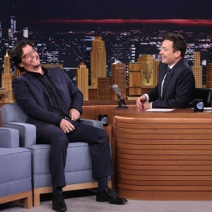 """O """"Capitão Nascimento"""" foi um dos entrevistados de Jimmy Fallon na sexta (8) (Foto: Reprodução)"""