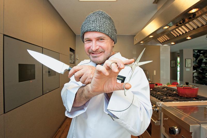 Wanderley Nunes: aulas de gastronomia (foto: Fernando Moraes)