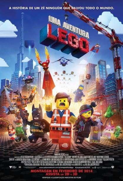 Uma Aventura LEGO: pôster do filme