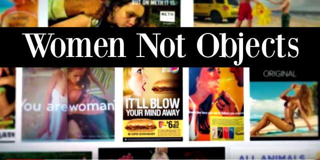 Os vídeos da campanha #WomenNotObjects voltaram ser compartilhados nesta semana